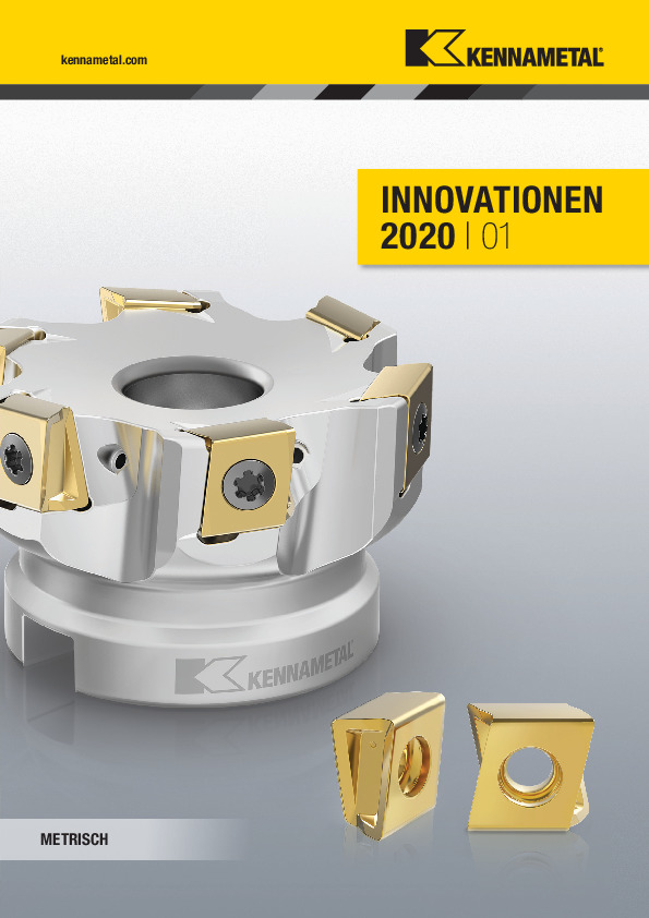 Kennametal Innovationen 2020