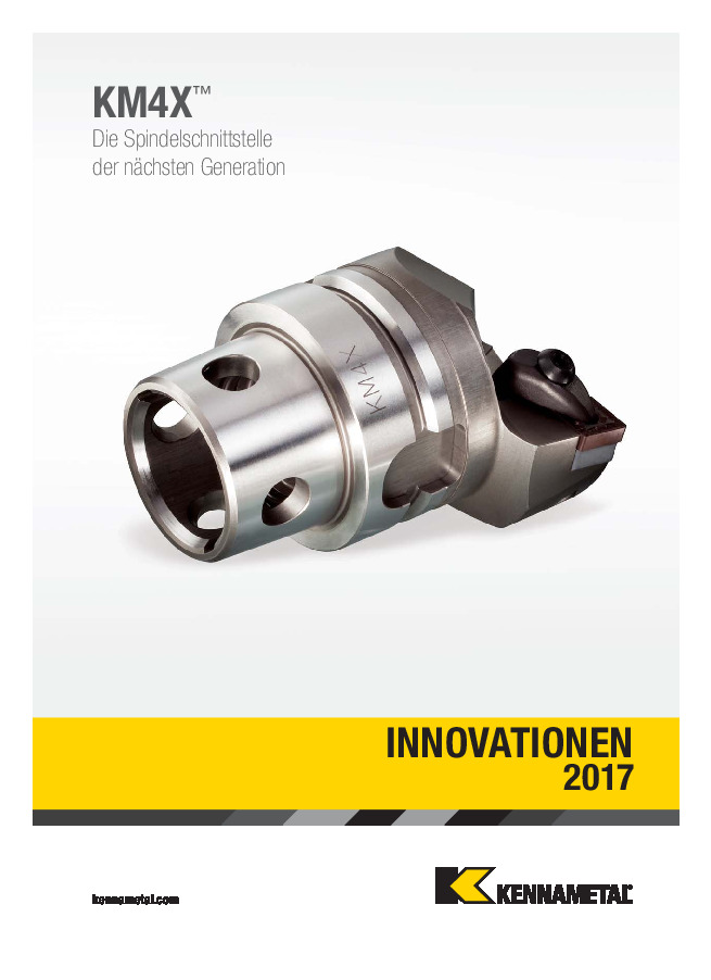 Kennametal Innovationen 2017
